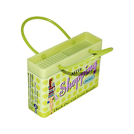 AmuseMints® Mint Candy Shopping Bag Tins, After Shopping, 0.68 Oz, Pack Of 24