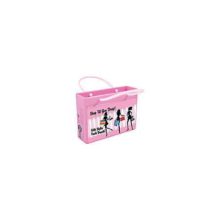 AmuseMints® Mint Candy Shopping Bag Tins, Shop 'Til You Drop, 0.68 Oz, Pack Of 24