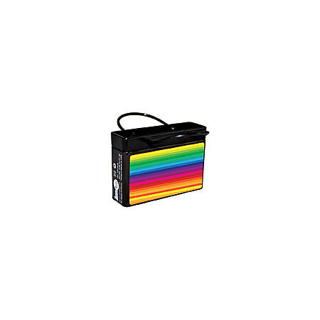 AmuseMints® Mint Candy Shopping Bag Tins, Rainbow, 0.68 Oz, Pack Of 24
