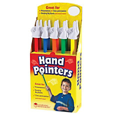 Learning Resources Hand Pointers 15 Assorted