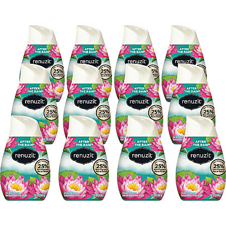 Dial Renuzit Adjustable Cone Gel Air Fresheners, After The Rain, 7 Oz, Pack Of 12
