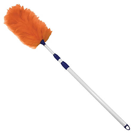"""Impact Products Adjustable Lambswool Duster - White - 60"""" Overall Length - 1 Each"""