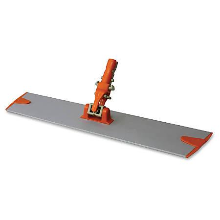 Microfiber Technologies Microfiber Mop Base - Lightweight, Swivel, Durable - Orange - Aluminum