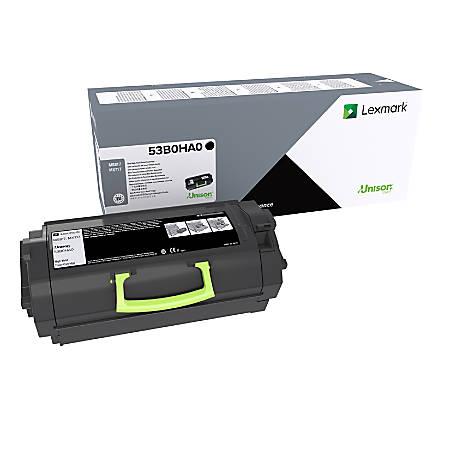 Lexmark™ 53B0HA0 High-Yield Black Toner Cartridge