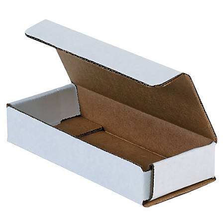 """Office Depot® Brand 11"""" Corrugated Mailers, 2""""H x 8""""W x 11""""D, White, Pack Of 50"""