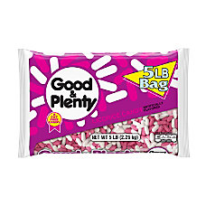 Good Plenty Licorice 5 Lb Bag