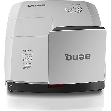 BenQ MW855UST 3D Ready DLP Projector - 16:10 - 1280 x 800 - Front, Ceiling - 720p - 3000 Hour Normal Mode - 4000 Hour Economy Mode - WXGA - 10,000:1 - 3500 lm - HDMI - USB - 3 Year Warranty
