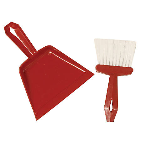 S.M. Arnold Dust Pan And Whisk Broom Set, Pack Of 6