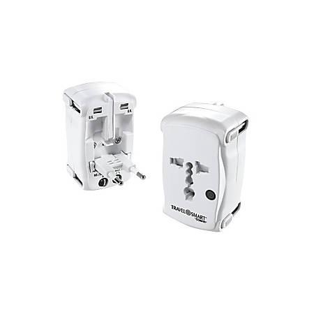 Conair Travel Smart TS237AP Power Plug - 110 V AC / 10 A, 220 V AC / 15 A