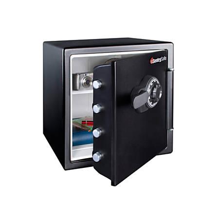 SentrySafe® Fire-Safe® Combination Safe, 1.23 Cu. Ft., Black
