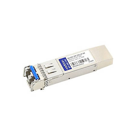 AddOn HP JD094B Compatible TAA Compliant 10GBase-BX SFP+ Transceiver (SMF, 1330nmTx/1270nmRx, 10km, LC, DOM) - 100% compatible and guaranteed to work