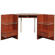 OSullivan Axent Collection Corner Hutch
