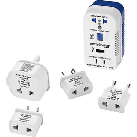 Travel Smart 1875-Watt High-Power Converter for Single-Voltage Appliances