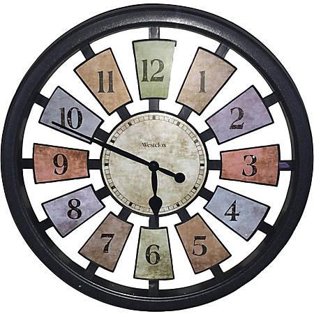 Westclox 36014 Wall Clock - Analog - Quartz