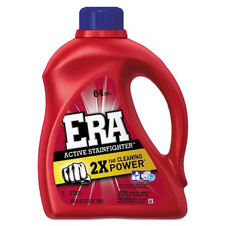 Era® Active Stainfighter™ Liquid Laundry Detergent, Original Scent, 100 Oz, Pack Of 4