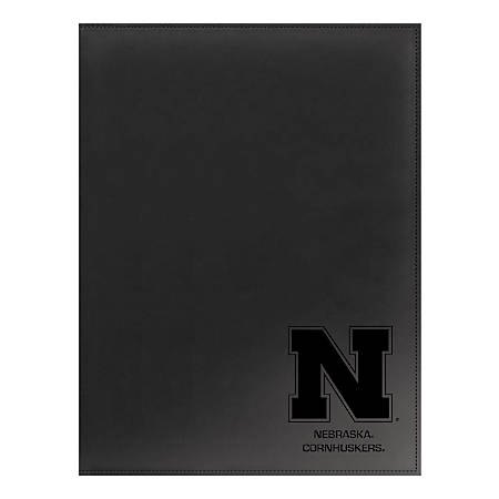 "Markings by C.R. Gibson® Leatherette Padfolio, 9 1/4"" x 12 3/8"", Nebraska Cornhuskers"