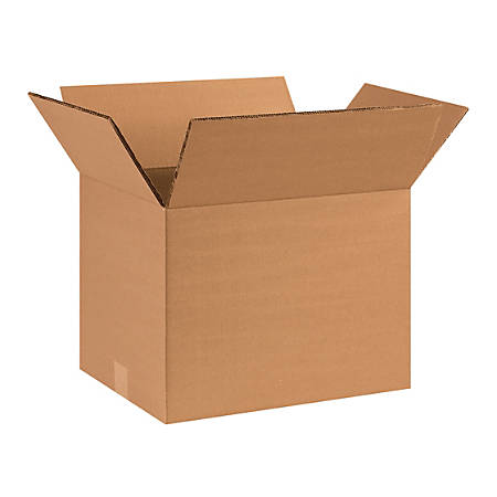 """Office Depot® Brand Double-Wall Heavy-Duty Corrugated Cartons, 16"""" x 12"""" x 12"""", Pack Of 15"""