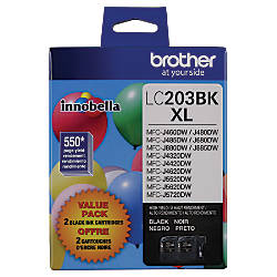 Brother LC2032PKS High Yield Black Inkjet