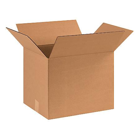 "Office Depot® Brand Corrugated Cartons, 16"" x 13"" x 13"", Kraft, Pack Of 25"