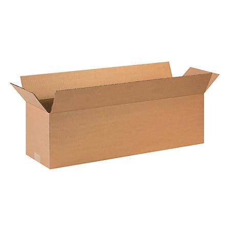 "Office Depot® Brand Corrugated Cartons, 28"" x 8"" x 8"", Kraft, Pack Of 25"