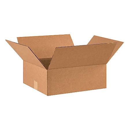 "Office Depot® Brand Corrugated Cartons, 16"" x 14"" x 6"", Kraft, Pack Of 25"