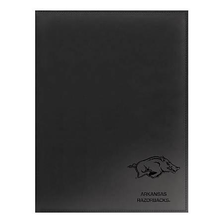 "Markings by C.R. Gibson® Leatherette Padfolio, 9 1/4"" x 12 3/8"", Arkansas Razorbacks"