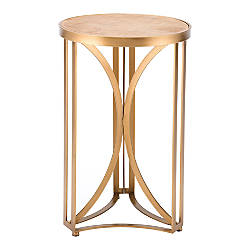 Zuo Modern Spinner Table Round Gold