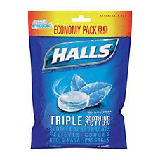 Halls Mentho Lyptus Cough Drops 8736