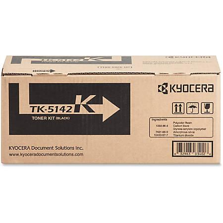 Kyocera TK-5142K Original Black Toner Cartridge, KYOTK5142K