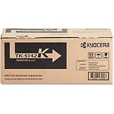 Kyocera TK 5142K Original Toner Cartridge