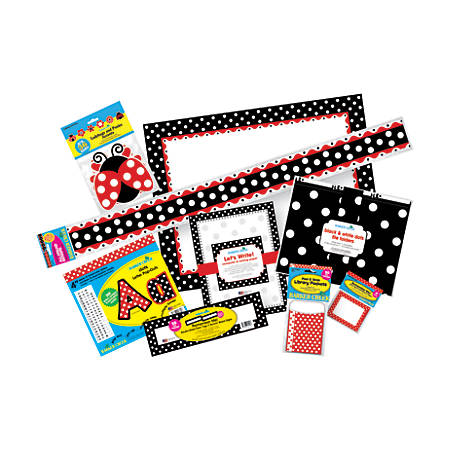 Barker Creek® Classroom Decor Set, Just Dotty