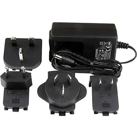 StarTech com Replacement 9V DC Power Adapter - 9 Volts, 2 Amps - 120 V AC,  230 V AC Input - 9 V DC/2 A Output Item # 323699