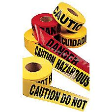 CAUTION SAFETY TAPE HAZARD KEEP AWAY
