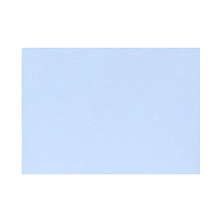 "LUX Flat Cards, A9, 5 1/2"" x 8 1/2"", Baby Blue, Pack Of 500"