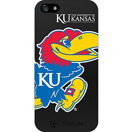 Centon iPhone 5 Classic Case University of Kansas - For iPhone - University of Kansas Logo - Black