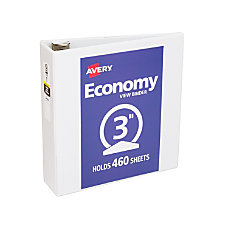 Avery Economy View Binder With Round