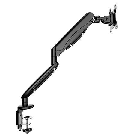 """Loctek MA9 Single Monitor Arm, 17 13/16""""H x 18 3/4""""W x 18 3/4""""D, Black"""