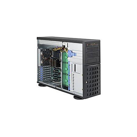 Supermicro A+ Server 4022G-6F Barebone System - 4U Tower - AMD - Socket G34 LGA-1944 - 2 x Processor Support - Black