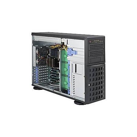 Supermicro A+ Server 4022G-6F Barebone System - 4U Tower - AMD - Socket G34 LGA-1944 - 2 x Processor Support - Black - 256 GB DDR3 SDRAM DDR3-1333/PC3-10600 Maximum RAM Support - Serial ATA, Serial Attached SCSI (SAS) RAID Supported Controller