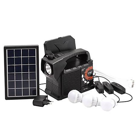 Technical Pro SOLARBOX9 Speaker/Power Bank, Black