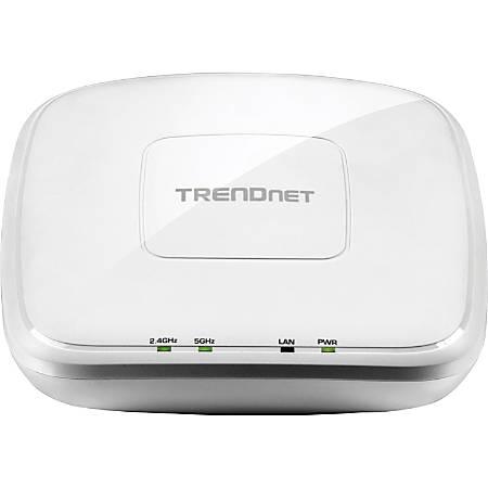 TRENDnet TEW-821DAP IEEE 802.11ac 1.17 Gbit/s Wireless Access Point - ISM Band - UNII Band