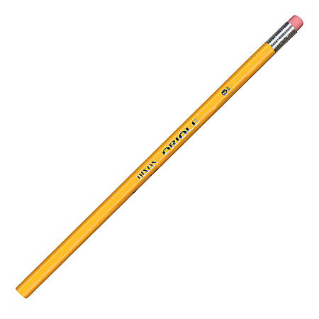 Dixon® Oriole Pencils, Yellow, No. 2 Soft Lead, Pack Of 12