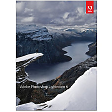 Adobe Photoshop Lightroom 6 WindowsMac Download