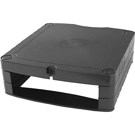 Compucessory Stackable Adjustable Monitor Riser