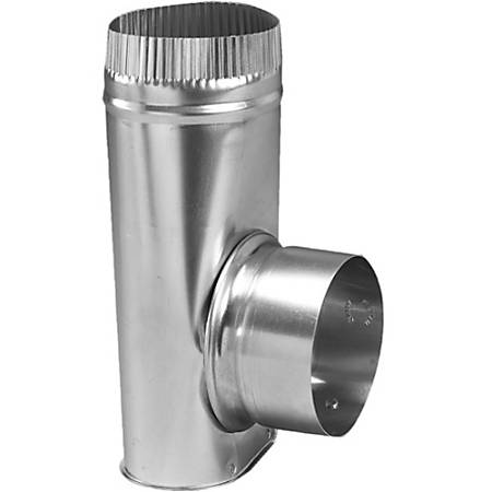 "Deflecto 4"" Dryer Offset Connector - 3.98"""