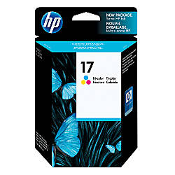 HP 17 Tricolor Original Ink Cartridge