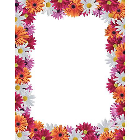 Gartner studios design paper 8 12 x 11 gerbera daisy pack of 100 by gartner studios design paper 8 12 m4hsunfo