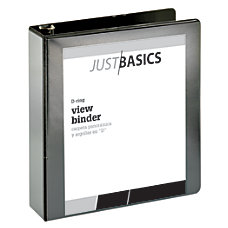 Just Basics D Ring View Binder