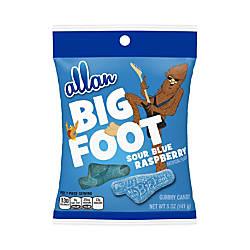 Allan Big Foot Sour Blue Raspberry