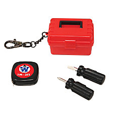Westminster Worlds Smallest Tool Kit Red